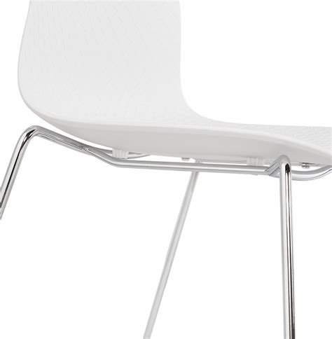 chaise moderne blanche chaise moderne expo blanche chaise traineau design