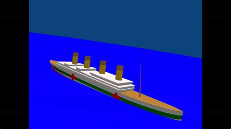 britannic sinking youtube
