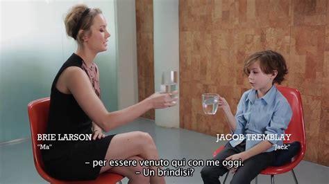 room brie larson  jacob tremblay  legame profondo