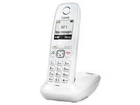 telephone fixe conforama t 233 l 233 phone fixe sans fil gigaset as405 blanc vente de t 233 l 233 phone r 233 sidentiel conforama