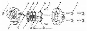Simplicity 990730 - 400 Lb  Front End Loader Parts Diagram For Hydraulic Group