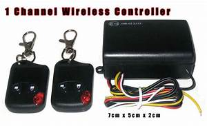 Led Wireless Remote Control 12v