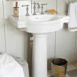 retrospect 27 inch pedestal sink american standard