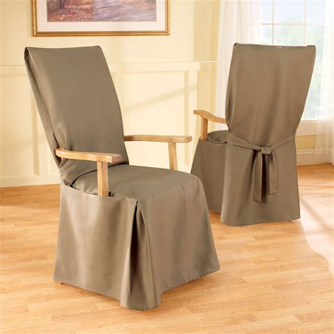 slipcovers for armed dining room chairs dining arm chair covers gallery dining
