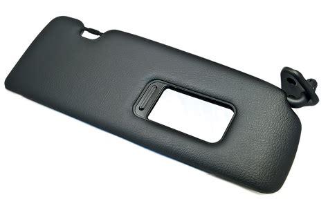 Bmw Sun Visor + Mirror Cover Right Black E46 3 Series