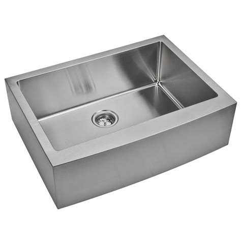 Ss Kitchen Sink by Water Creation Ss As 3022b One Bowl Stainless Steel