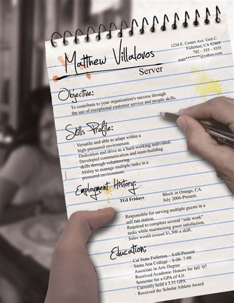 Unique Resume Templates For Freshers by Curriculum Creativo Come Fare Figura Da Subito
