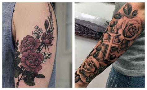 Los Tatuajes de rosas en un solo lugar 🥇 2020 Oficial