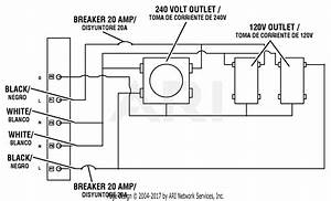 Homelite Hu5000 Series 5 000 Watt Generator Parts Diagram