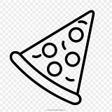 Pizza Drawing Coloring Pepperoni Cheese Posters Favpng sketch template