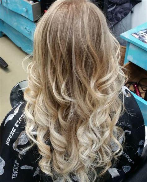 blonde hair color ideas  balayage highlights