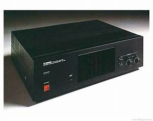 Yamaha M-50 - Manual - Stereo Power Amplifier