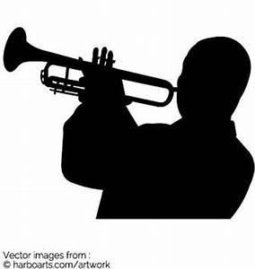 Download : Louis armstrong playing trumpet - Vector Graphic