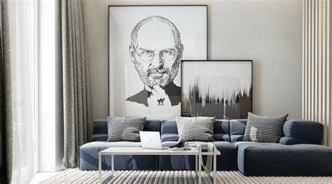 Living Room Steve by 20 Stunning Living Rooms With Artwork