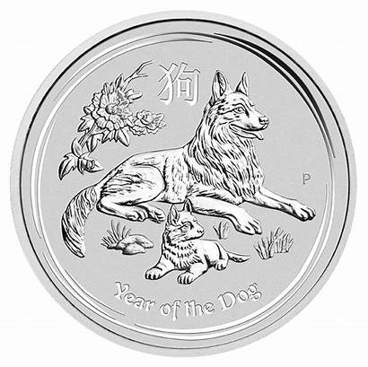 Lunar Silver Coin Dog Ii 1oz Celticgold