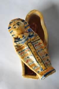 egyptian sarcophagus ceramic