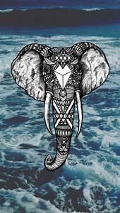 elephant wallpaper | Tumblr