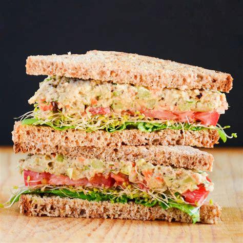 sandwich ideas sandwich ideas chickpea mock tuna salad foodscape
