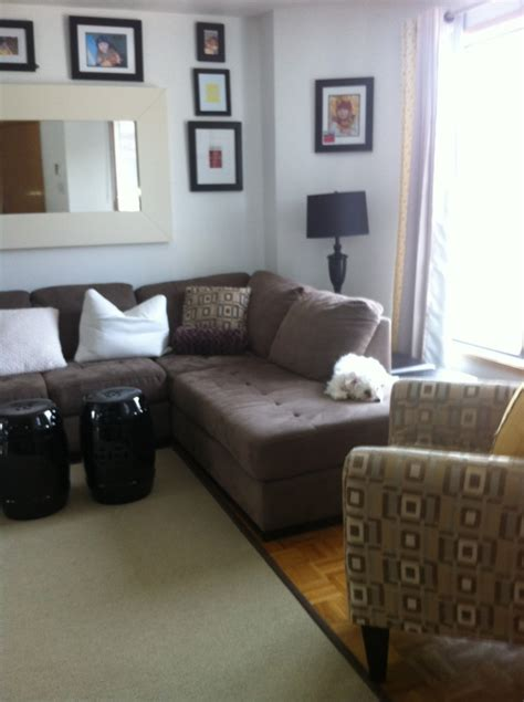 brown sectional living room ideas hgtv living room decorating with sectionals modern home 7964