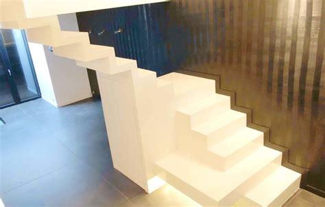 comment renover une cuisine escaliers en béton ciré contemporain escalier other metro par 3dco