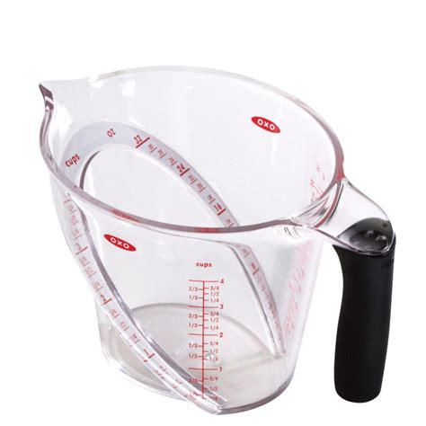oxo kitchen accessories oxo grips angled measuring cup 4 cup iwoot 1357