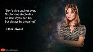 Doctor Who Quot... Dedicated Doctor Quotes