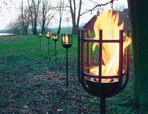 Outdoor Bilder Für Den Garten by Stahlfackel F 252 R Den Garten Auf Deco De