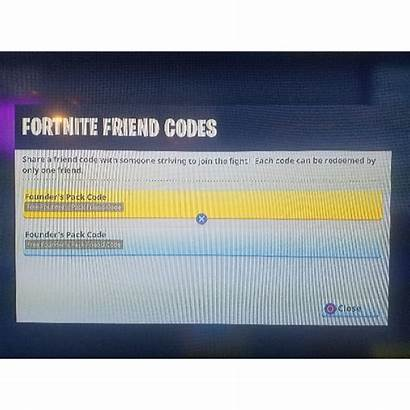 Ps4 Code Fortnite Codes Friend Redeem Gameflip