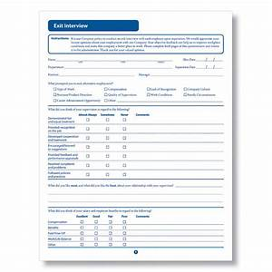 best photos of interview forms downloadable employee With free employee exit interview template