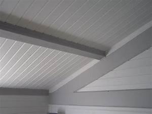 stilvoll peindre frisette plafond lambris on decoration d With peindre du lambris bois