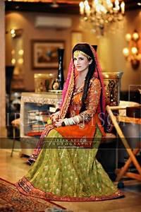 Pakistani bridal mehndi dresses 2013 trends mehndi outfits