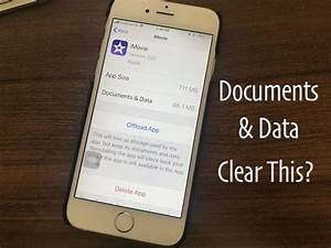 clear documents and data in ios 11 on iphone new ways With delete documents and data on iphone 7