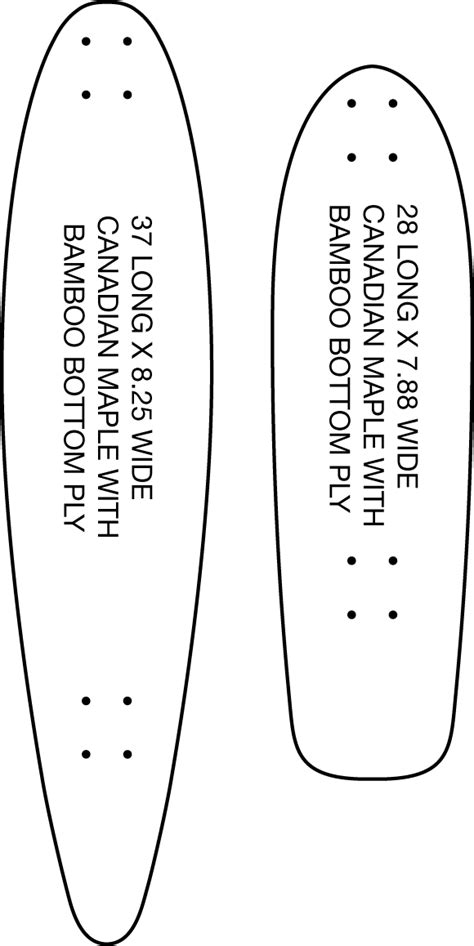 longboard cruiser template www pixshark images galleries with a bite