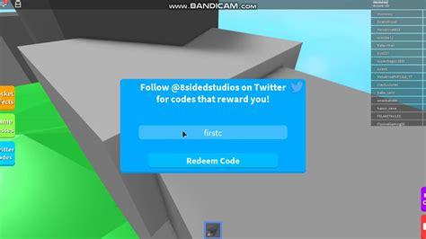 robloxrocket simulator code youtube