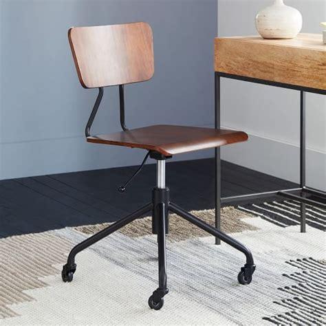 west elm industrial desk adjustable industrial office chair west elm