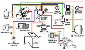 Harley Starter Relay Wiring Diagram For 1975 Free Harley Davidson Wiring Diagrams Harley