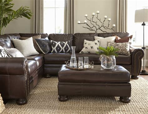 Brown Leather Couch Living Room Ideas Stunning Futon Sofa