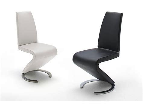 Chaises Desing by Chaises Desing Trendy Lot De Chaises Design En Tissu Pied