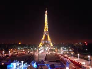 Paris Eiffel Tower at Christmas Time