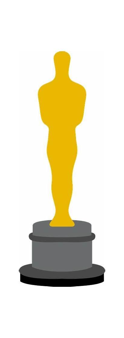 Clipart Oscars Oscar Silhouette Hollywood Awards Academy