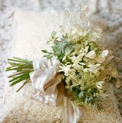 wedding bouquet ideas a lacy bridal bouquet once wed