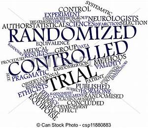 Abstract word cloud for randomized controlled trial with ...