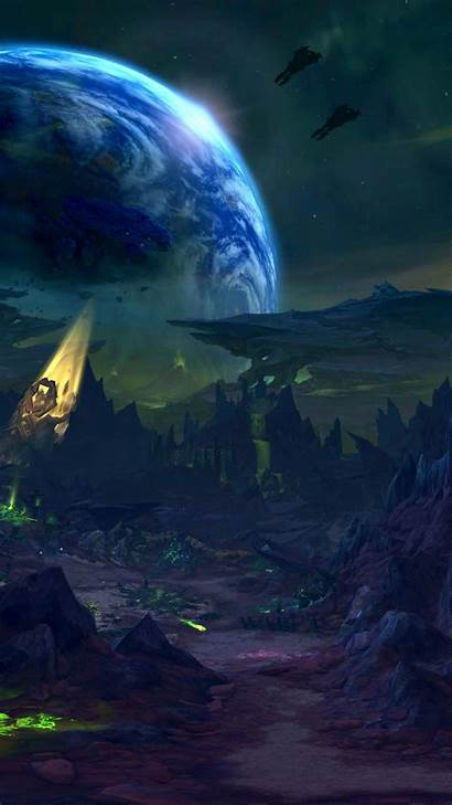 Warcraft Space Phone Wow Created Tattoos Wallpapers