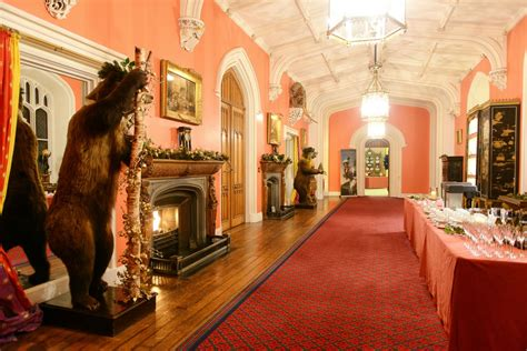 stately home christmas  scone palace