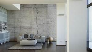 Mauer Wand Wohnzimmer : architects paper fototapete betonwand 470443 beton ~ Lizthompson.info Haus und Dekorationen