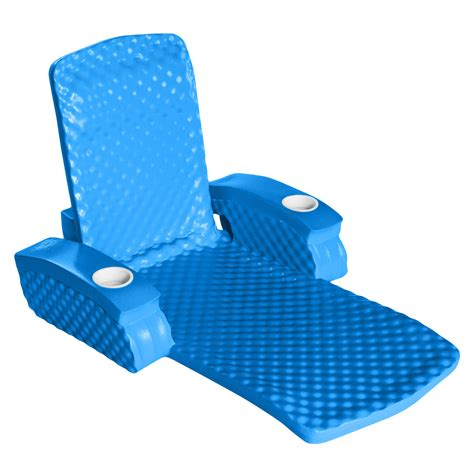 rec baja ii folding foam lounge chair
