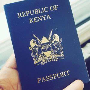 kenyan passport renewal form kenyan passport kenyan passport application