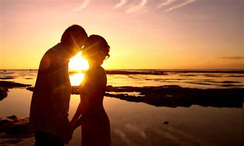 hd walpaper romantis  background sunset