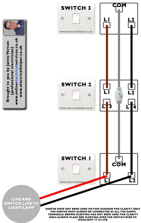 wiring 3 way switch electrical helper