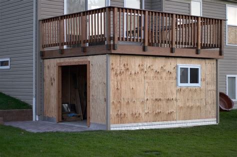 deck storage shed shed deck i ve been thinking about this one for a